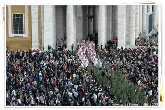 Documentário Eucaristia - Missa de Ramos - Itália 2008