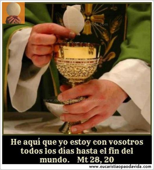Eucaristía Mt 28.20