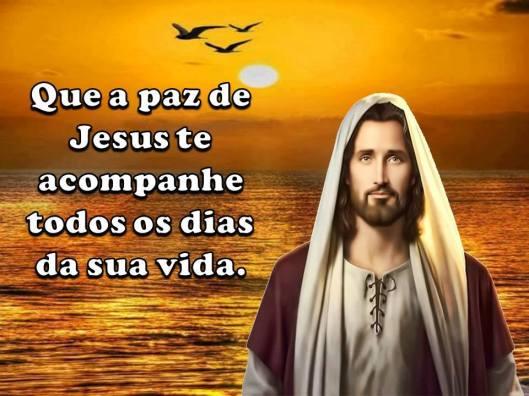 que a paz de jesus