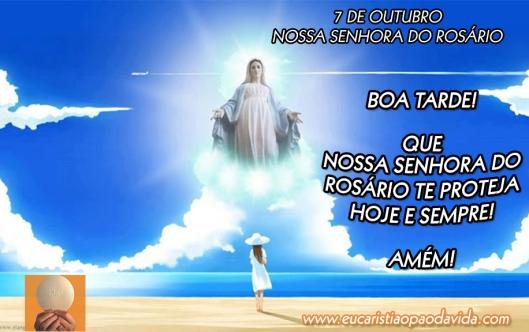 Céu, praia, Maria, Rosário, Terço, Católico.