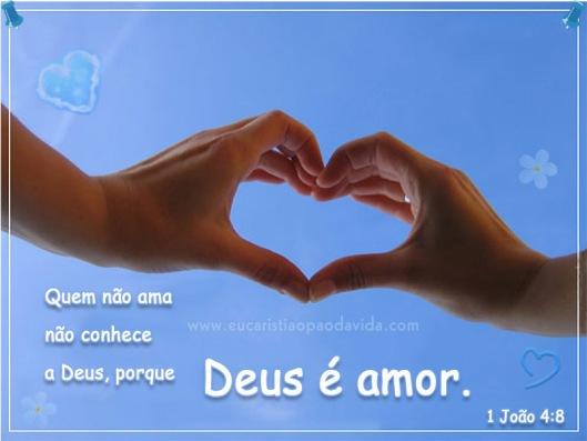 O amor de Deus é infinito!