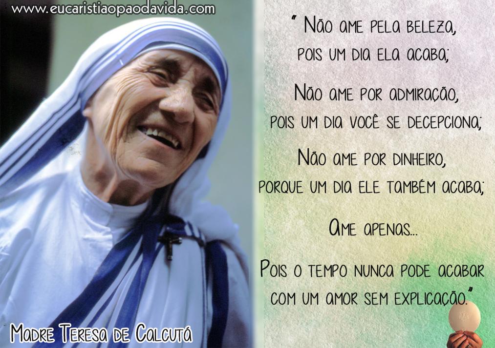 Madre Teresa De Calcuta Eucaristia O Pão Da Vida